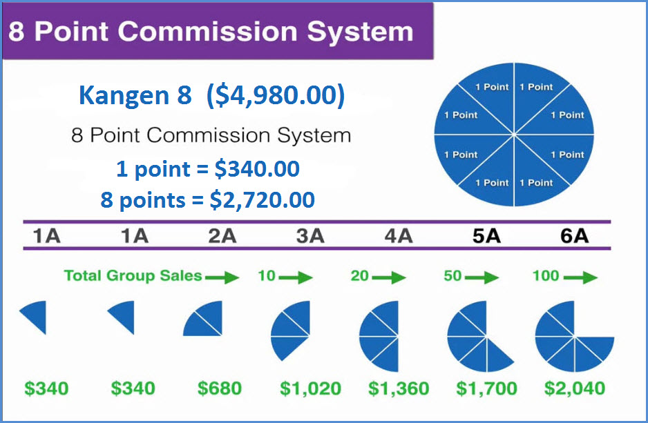 8 Point Commission Structure